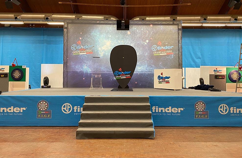 Allestimento Finder Italian Grand Master 2019